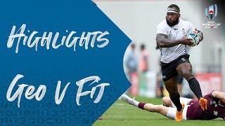 Highlights: Georgia v Fiji - Rugby World Cup 2019