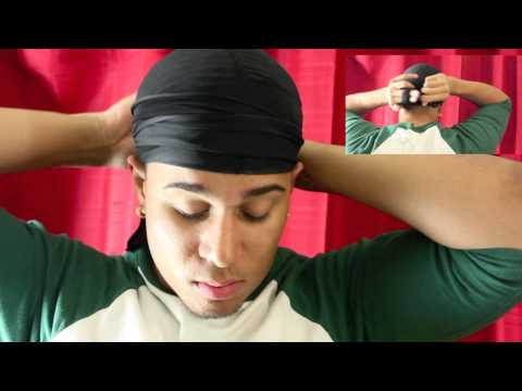 How to tie a durag CORRECTLY (no line marks on forehead)