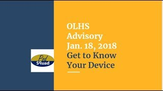 Jan 2018 Advisory Intro Lesson