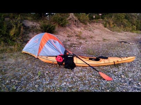 Mississippi River Kayak Camping Oak Island September 12 2015