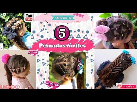 5 Peinados Faciles Para Nina Paso A Paso 5 Peinados Para La
