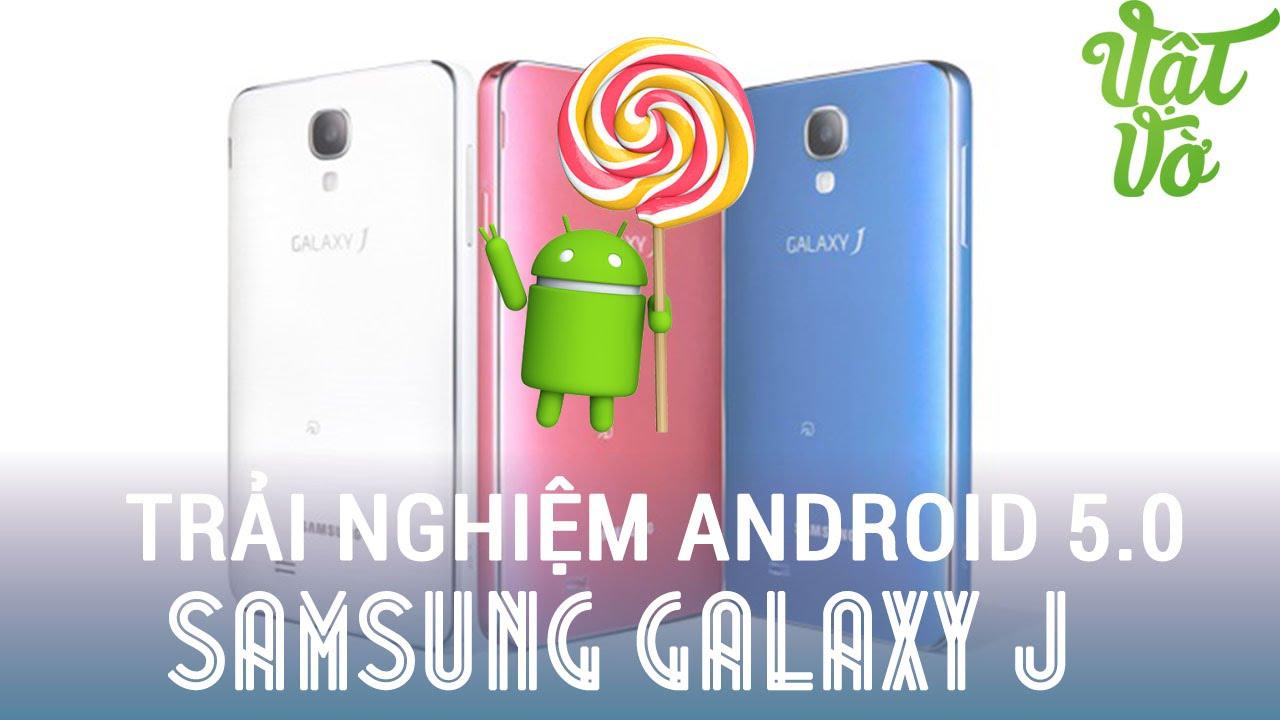 [Review dạo] Giới thiệu rom Android Lollipop 5.0 cho Samsung Galaxy J/Note 3 docomo (port từ Note 3)