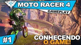 MOTO RACER 4 COOP #1 - CONHECENDO O GAME! / 1080p PT-BR