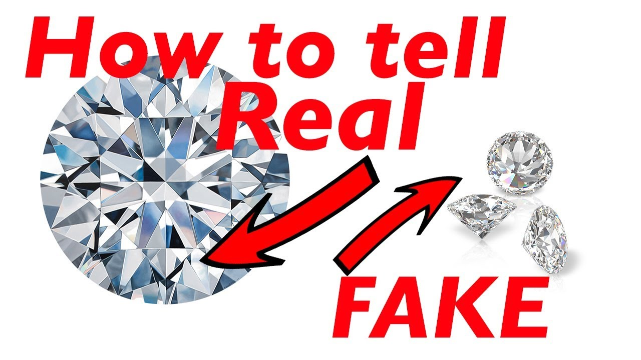 How To Tell If A Diamond Is Real Or Fake At Home Quick And Easy Youtube