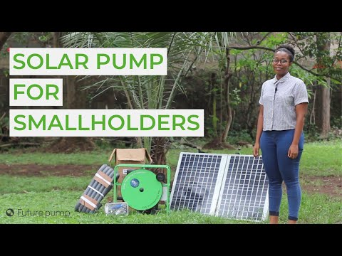 Solar Water Pump for Smallholder Farmers - The Futurepump SF2