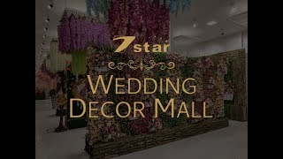 wedding decoration items in India