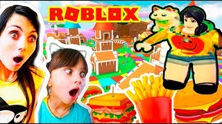 EAT or GET CAUGHT! Valerishka GLUTTON! NEW YEAR Roblox Eat or Die ROBLOKS Valerishka for children children
