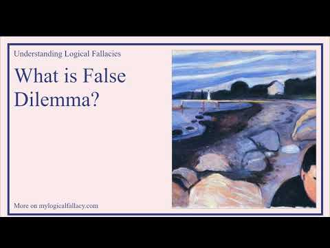 What is False Dilemma? [Definition and Example] - Understanding Logical Fallacies