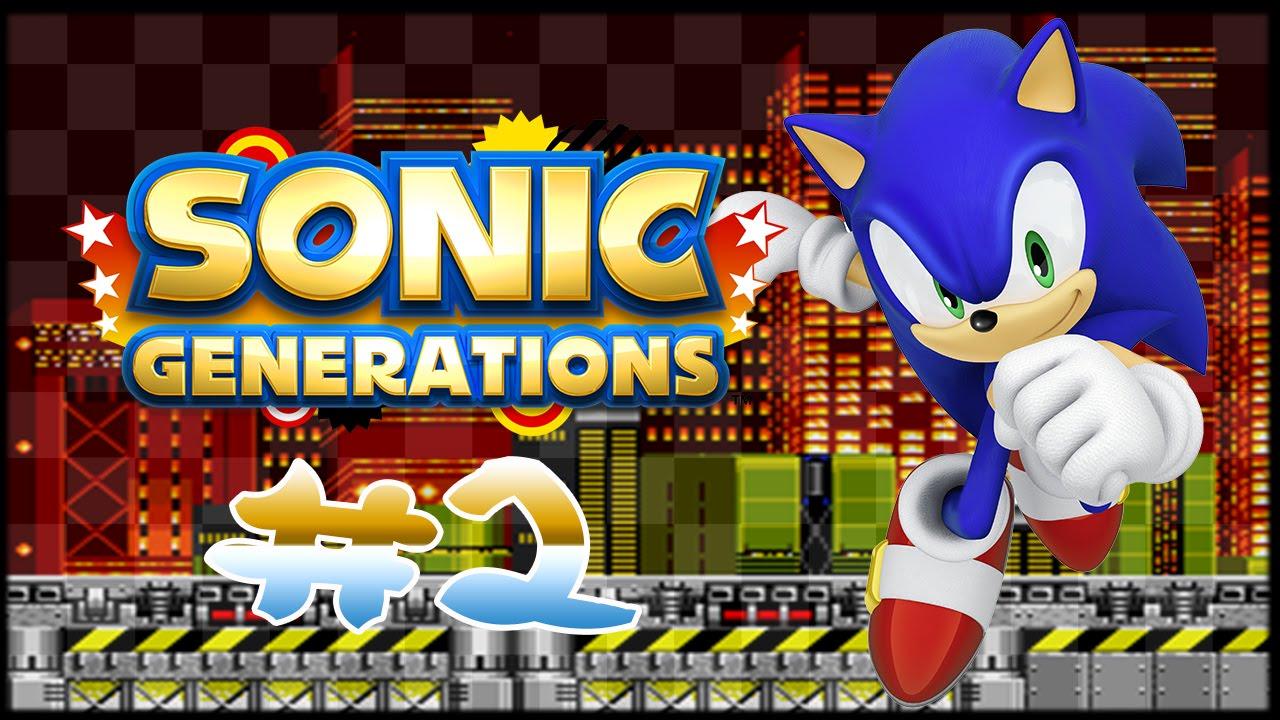 Sonic Generations | ALL BOSSES (Hard Mode) - YouTube  |Sonic Generations 2 Player Mode