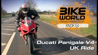 Ducati Panigale V4 UK Ride With Flames (Sponsored By Bike Devil)