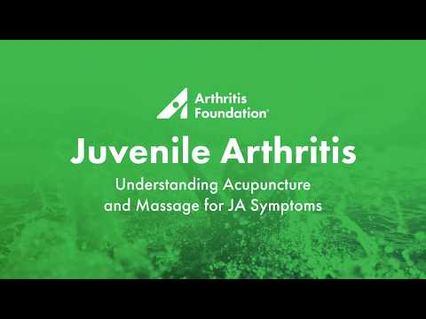Understanding Acupuncture and Massage for JA Symptoms