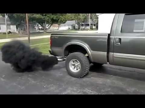 Powerstroke Rolling Coal