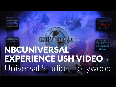 NBCUniversal Experience 50th Anniversary Video -  Universal Studios Hollywood
