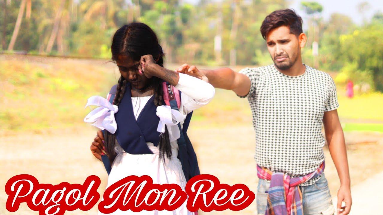 Pagol Mon re | Heart touching love story | Ft.Anirban | Mithun Saha | Hindi Song