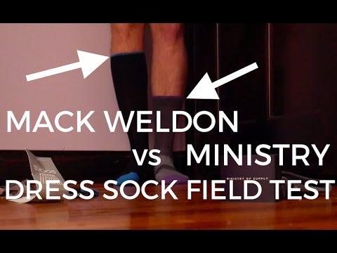 Mack Weldon Vs Ministry Performance Dress Socks  | 48 HOUR EUROPE TRIP - Sock Vlog 2
