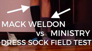 Mack Weldon vs Ministry Performance Dress Socks    48 HOUR EUROPE TRIP - Sock Vlog 2