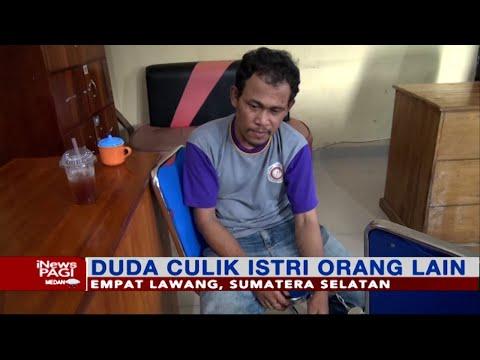 Seorang Duda Di Sumatra Selatan Culik Istri Orang Lain #iNewsPagi 01/08