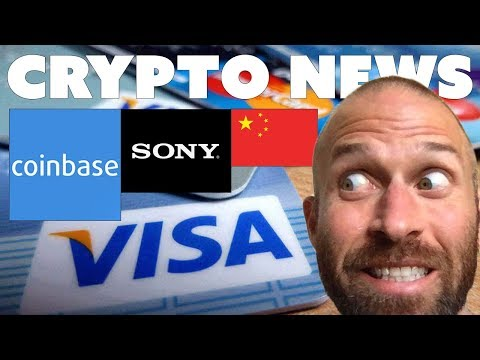 Coinbase Goes Public | Visa Moves Into Crypto | China Protects Bitcoin | Sony Hardware Wallet