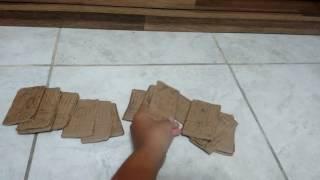 Como fazer uma carta de yugioh de papelão