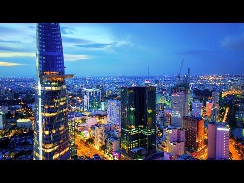 Amazing Saigon Ho Chi Minh City in Vietnam 2017