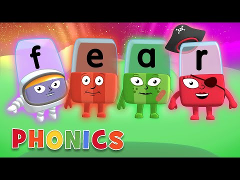 Phonics - Learn To Read   Fearsome Words   Alphablocks