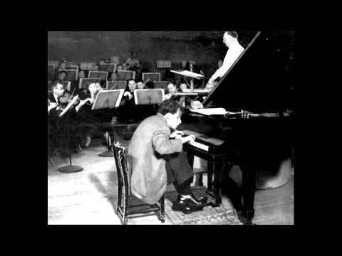 Bach Brandenburg Concerto No.5 - Gould - Mishakoff - Tipton - Detroit Symphony - Paray - 1960