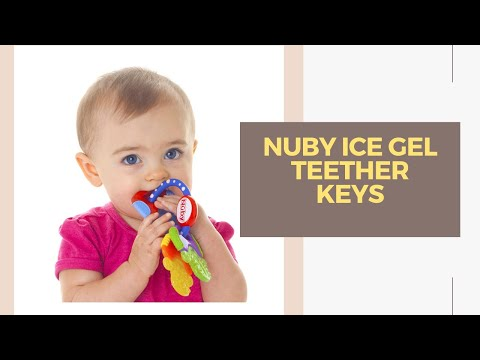 Nuby IcyBite Keys Teether Review