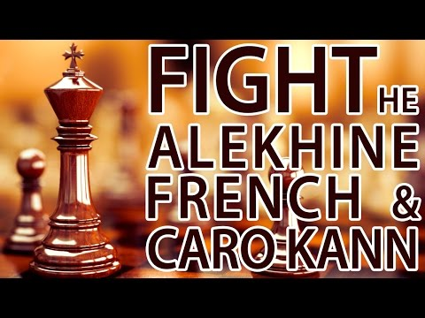 Fight Against the Caro Kann, Alekhine & French! - GM Roman Dzindzichashvili