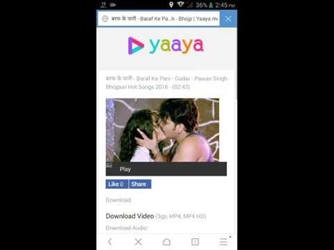 How to use yaaya.mobi with mp3 songs