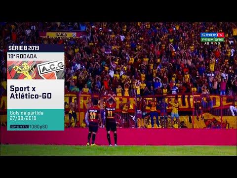 SporTV HD⁶⁰ | Gols de Sport 1 x 1 Atlético Goianiense pela 19ª Rodada do Brasileirão Série B 2019