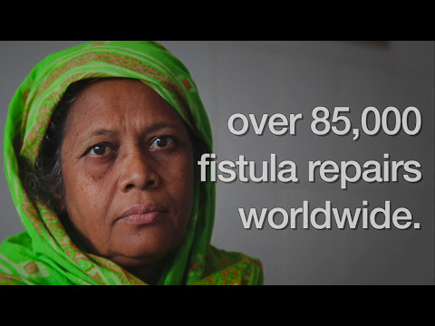 Freedom from fistula