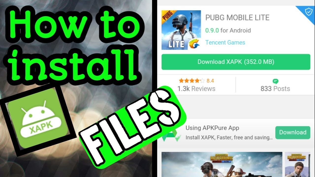 how to install xapk file on android phone
