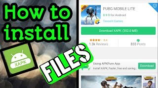 Gambar cover How To Install XAPK Files Or Games On Android