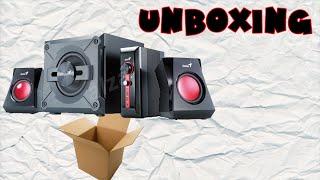 ►Genius GX Gaming SW-G2.1 1250◄ Unboxing + Setup | Nitram Doh