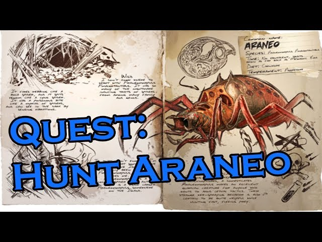 Clearing Quest Hunt Araneo - Ark Survival Evoved Mobile