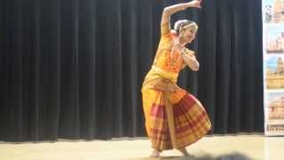 Indian Classical Bharatanatyam Style  dance for Ganesh Chaturthi Festival Seoul