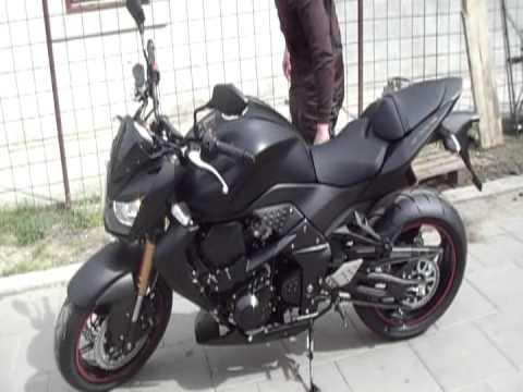 Kawasaki Z750R 2012 Black Edition Bane Belgrade