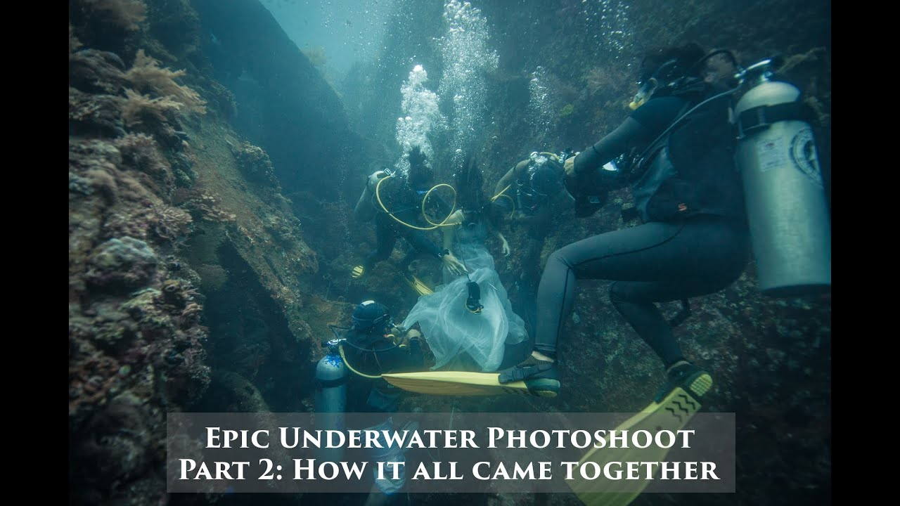 Epic underwater photoshoot - Part 2 - How it all came together
