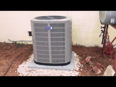 2 ton 17 SEER Heat Pump installation.