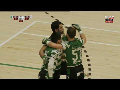 1024x576 Campeonato Nacional de Hóquei   Sporting vs HC Turquel  Campeonato Nacional de Hóquei  TVI