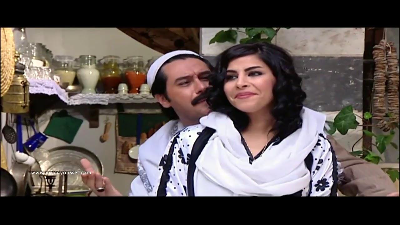 باب الحارة ـ عصام محروق دمو مشان مرتو الجديدة ههه ـ ميلاد يوسف