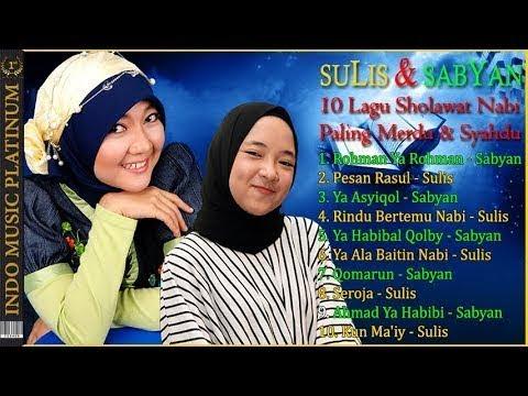 SULIS & SABYAN - Lagu Sholawat Nabi Paling Merdu & Syahdu - Bikin Merinding