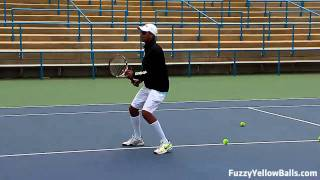 Personalizing Your Game (tennis footwork drills)