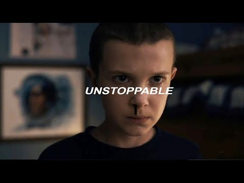 Unstoppable (video strangers things) - Sia - Traducción