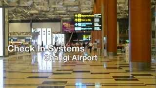 Changi Airport Passenger Check In systems