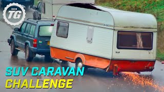 Download SUV Caravan Challenge | Top Gear | Series 22 | BBC Mp3 and Videos