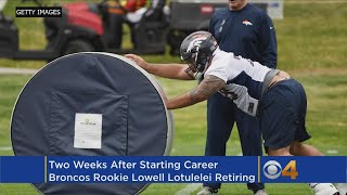 Report: Broncos Rookie Lowell Lotulelei Retires From Football