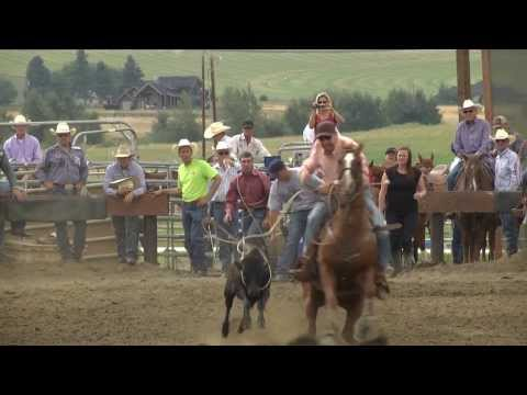 Sights & Sounds - CWU at WestStar Arena Roping Competiton 2013