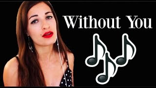 Without You  Lana Del Rey Acapella Cover Music Singing Karaoke Song Video
