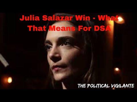 DSA's Salazar Beat Incumbent For NY State Senate - The Political Vigilante